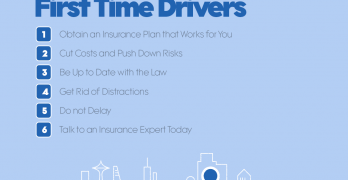 Driving Tips for First Time Drivers (Infographics)