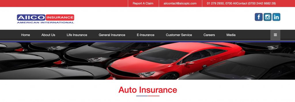 aiico motor car insurance in Nigeria