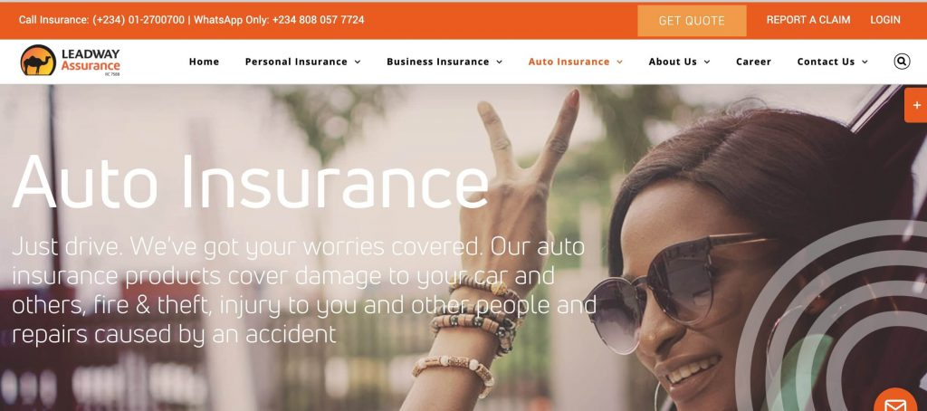 leadway car insurance in Nigeria
