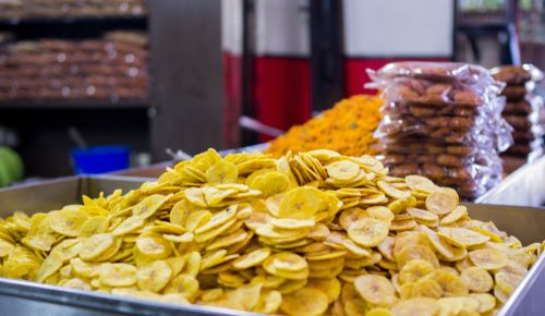 selling of plantain chips