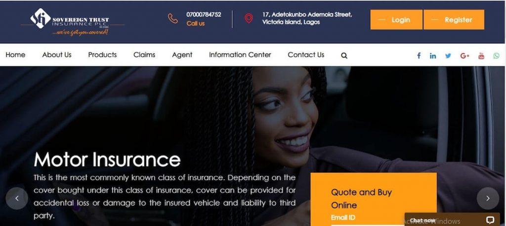 soverign trust insurance