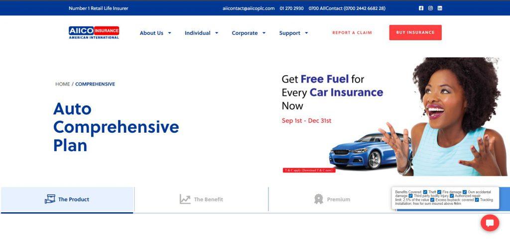 AIICO Car Insurance